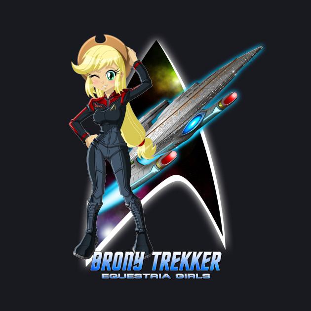 Brony Trekker: Equestria Girls AJ Ver.