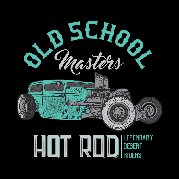 vintage hot rod speed car