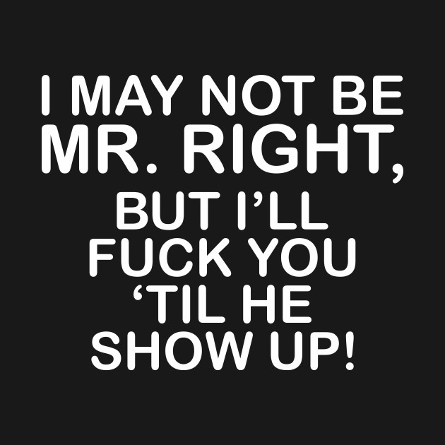 i may not be mr right but i ll