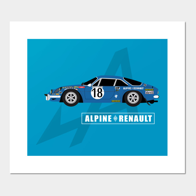 Alpine A110 Alpine Posters And Art Prints Teepublic