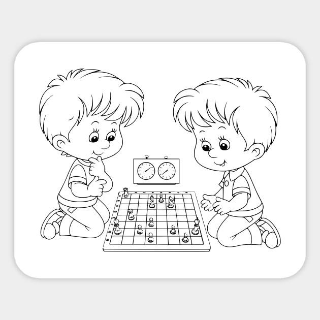 Limited Edition Exclusive Chess Coloring Book Dibujo Ajedrez Para Colorear 18
