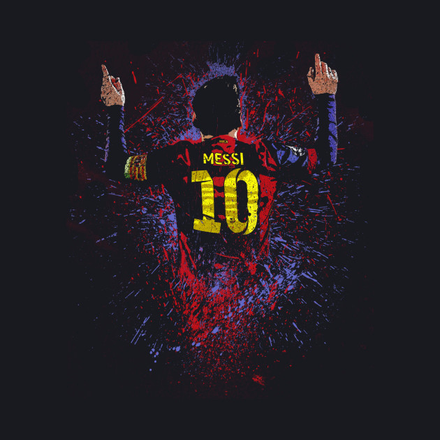 A Messi Splatter