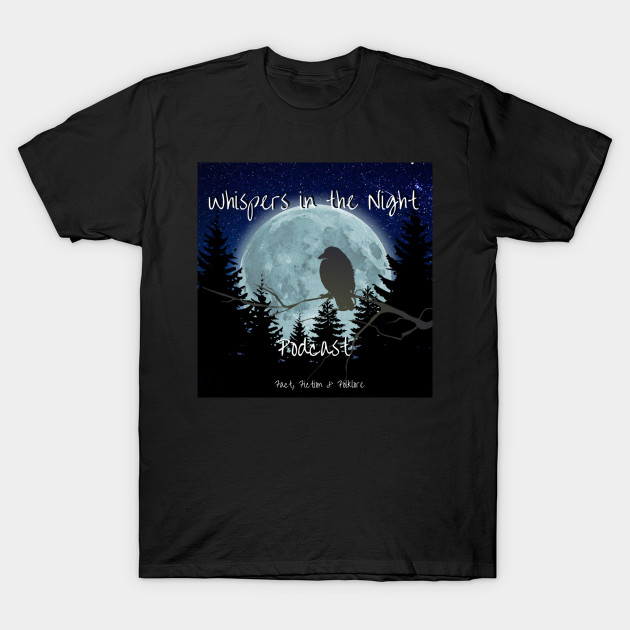 Whispers in the Night Logo (Original 2016) T-Shirt-TOZ