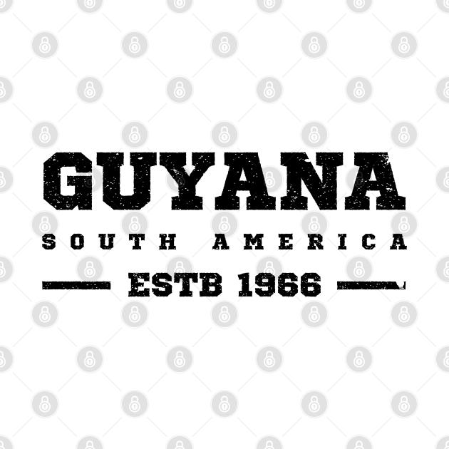 Guyana Estb 1966 South America