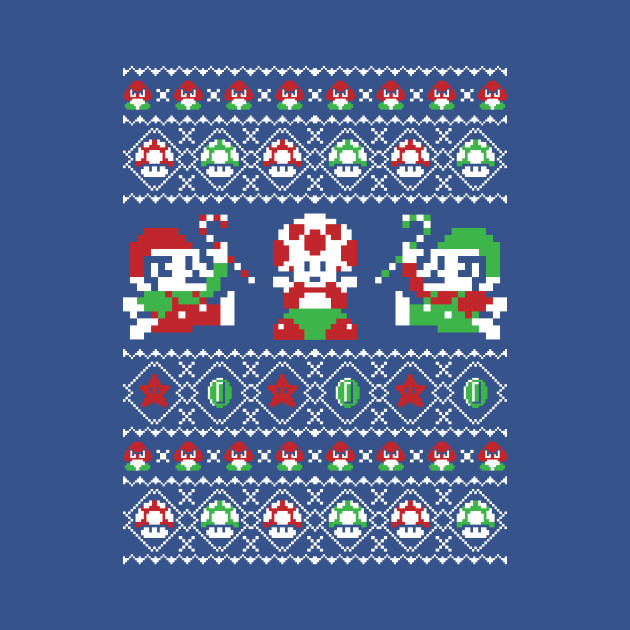 Super Christmas Bros - Ugly Sweater