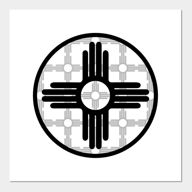Zia Symbol Pattern New Mexico Flag New Mexico Posters And Art