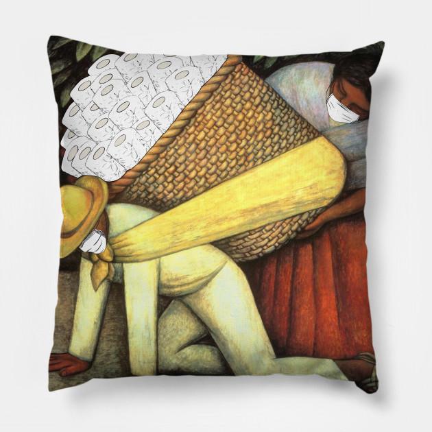 The Flower Carrier Covid19 Pillow Teepublic