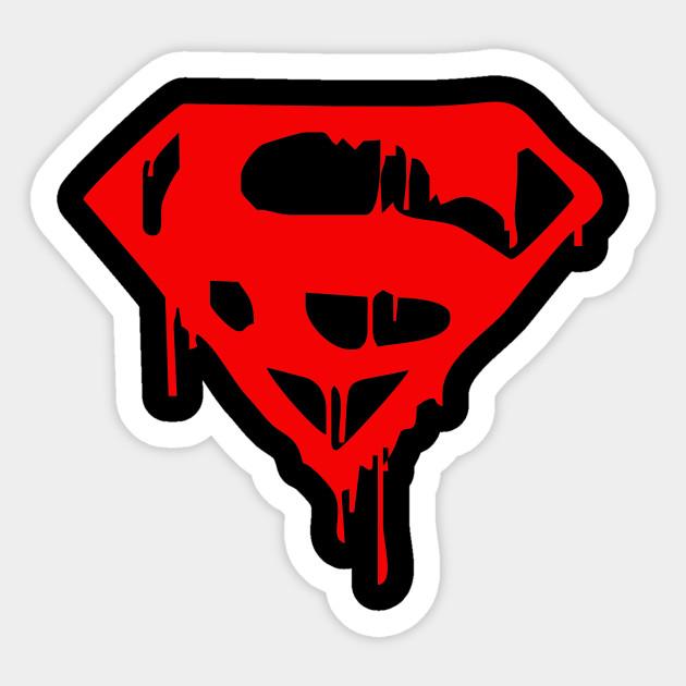 Superman sticker fun