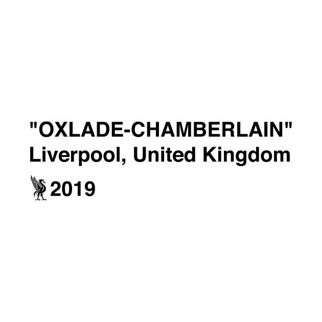 b288ad34b9f1 Oxlade-Chamberlain x Off White - Off White - T-Shirt | TeePublic