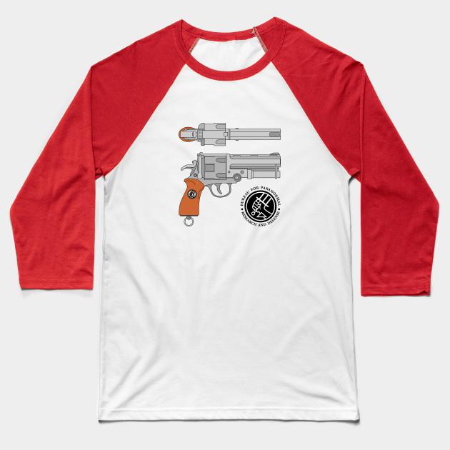 Hellboy samaritan blueprint hell baseball t shirt teepublic 1598767 1 malvernweather Image collections