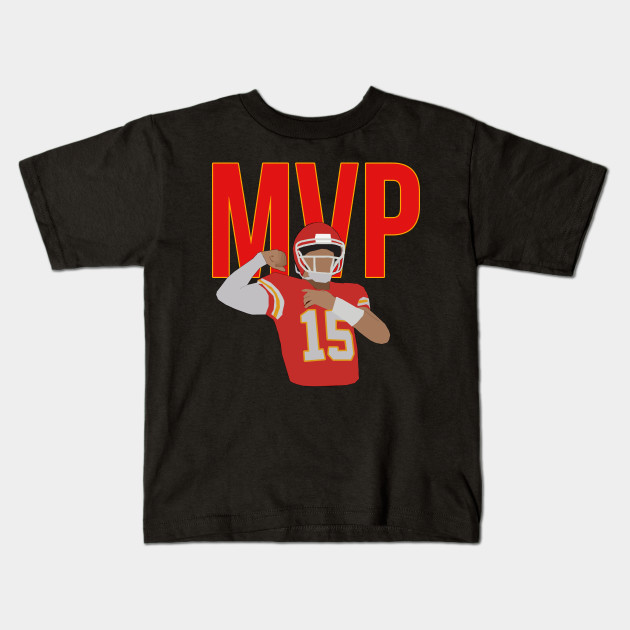 c6d961b9415 Pat Mahomes MVP - Kansas City Chiefs - Nfl - Kids T-Shirt | TeePublic