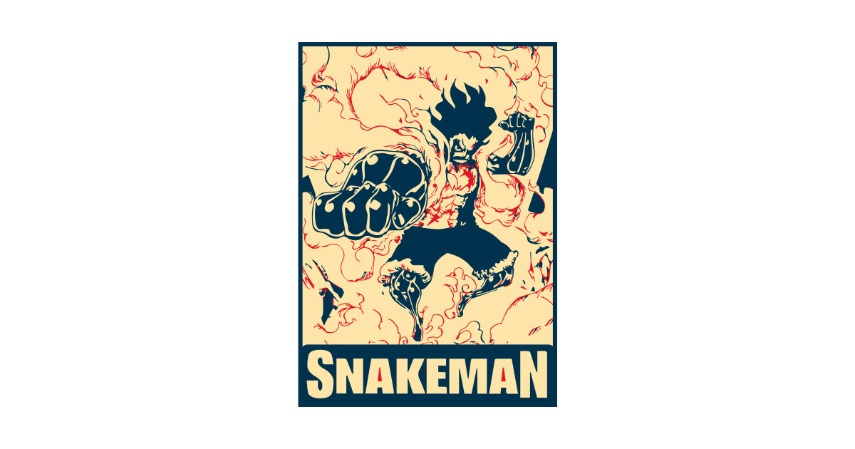 c8607c16b1e8 Luffy Snake Man - Luffy One Piece - Kids T-Shirt | TeePublic