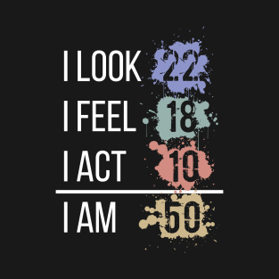 95 50th Birthday T Shirt Designs