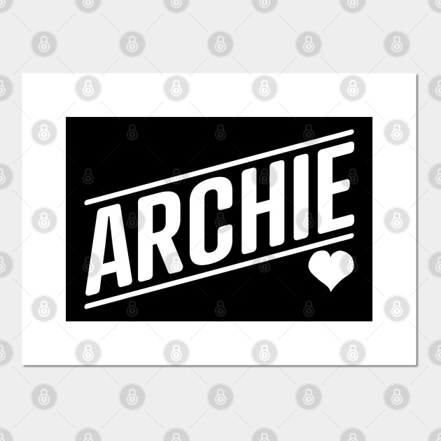 Archie! So much love for the name Archie, the royal baby to Meghan and  Harry. - Archie - Affiche et Impression d'art   TeePublic FR