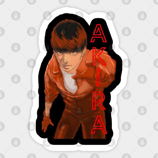 T Shirt Anime Akira Manga Kaneda Tetsuo Japan Japanese Neo Sticker Teepublic