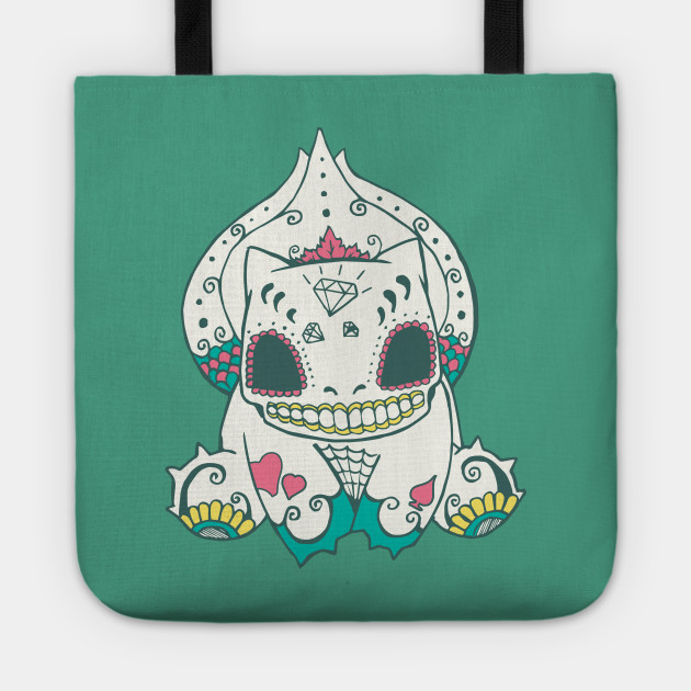 bulbasaur popmuerto pokemon day of the dead mashup bulbasaur