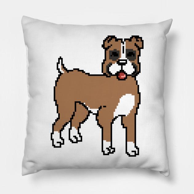 Boxer Dog Pixel Art
