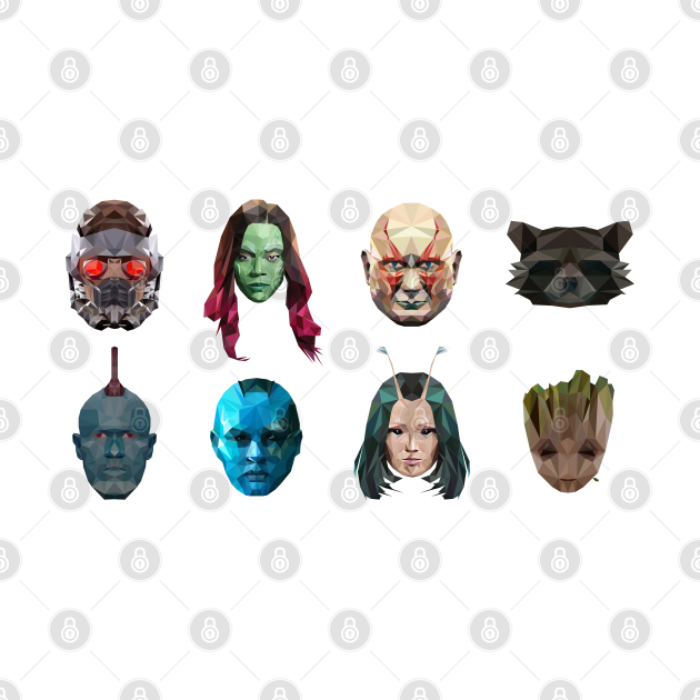 Guardians Of the Galaxy Poly (orizzontal)