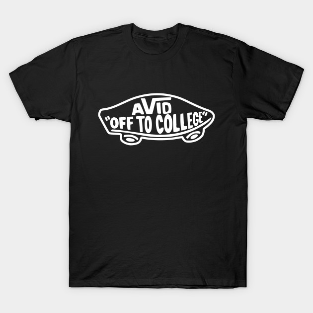 2675e33ce8ab AVID Off to College Skateboard - Off To College - T-Shirt | TeePublic