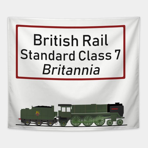 BR Standard Class 7 Britannia Steam Loco