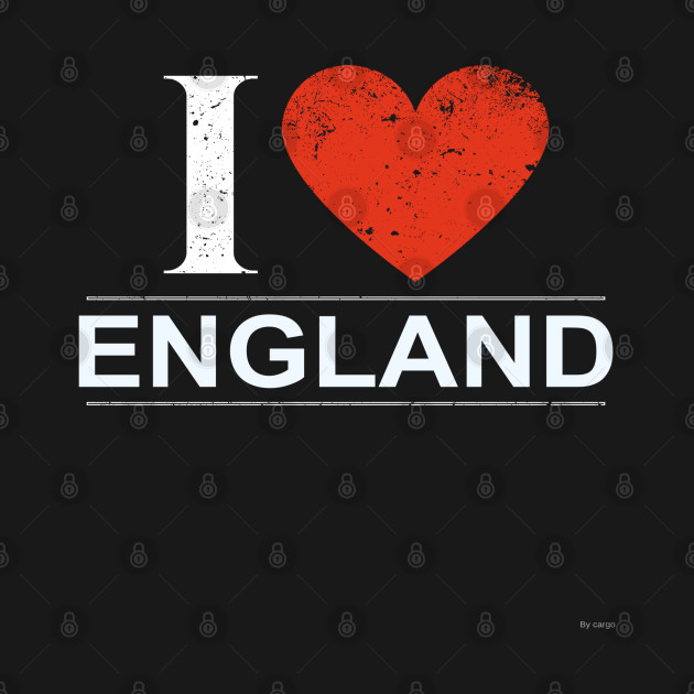 I Love England - Gift for English