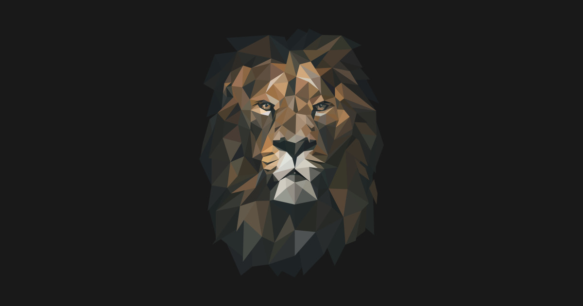 a17bb359 Low Poly Lion by pxl_g