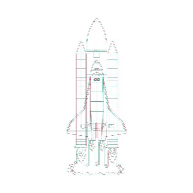 Houston Rocket NASA Space Shuttle