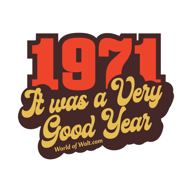 1971 It Was A Very Good Year (Limited Release)