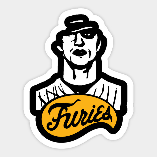 The Warriors Baseball Furies Cinema Sticker Teepublic