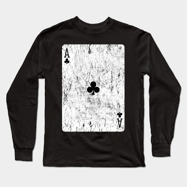 5e3dcf12 Vintage Ace of Spades Playing Card