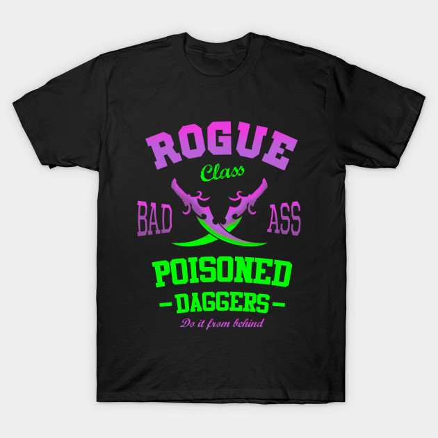 fda8dc7b4 Rogue WoW Daggers Gamer - Rogue - T-Shirt | TeePublic
