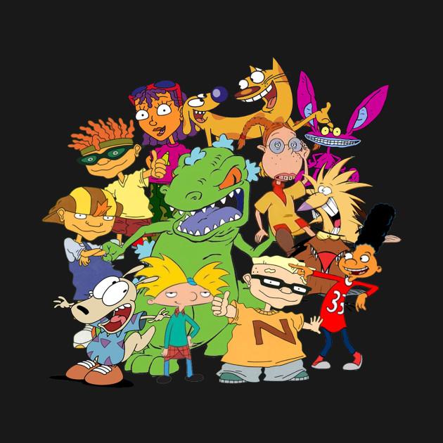 90's Cartoon Mash-Up