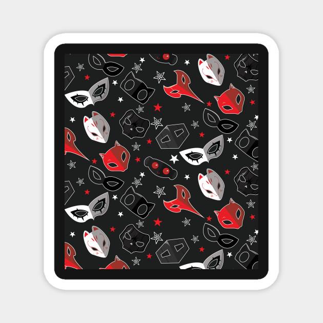 Persona 5 Masks Pattern