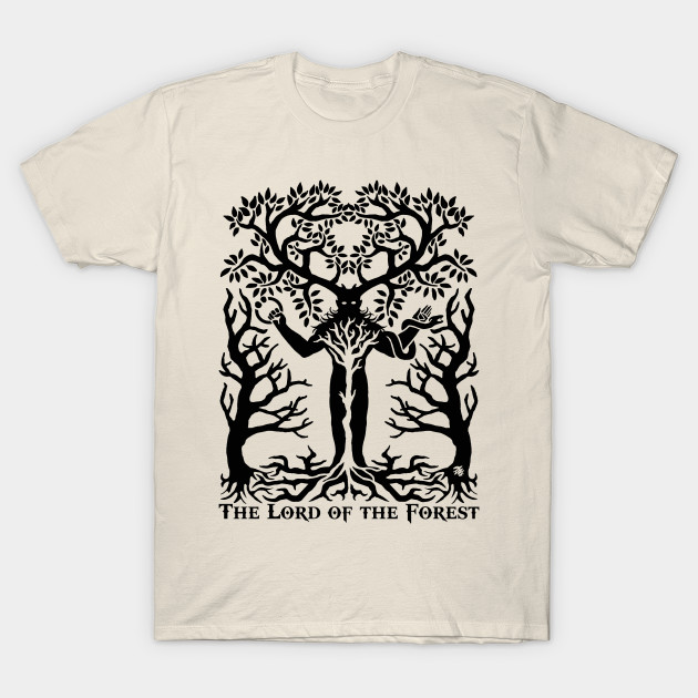 Cenunnos Horned God Wiccan Wiccan T Shirt Teepublic