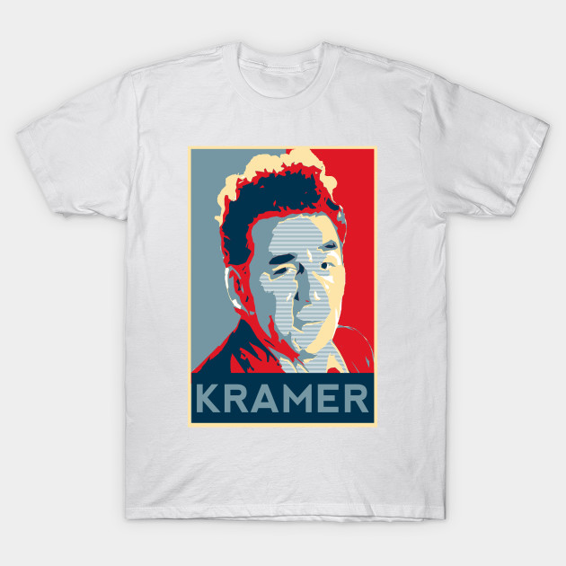 afb6d7d1 COSMO KRAMER - Seinfeld Tv Show - T-Shirt | TeePublic
