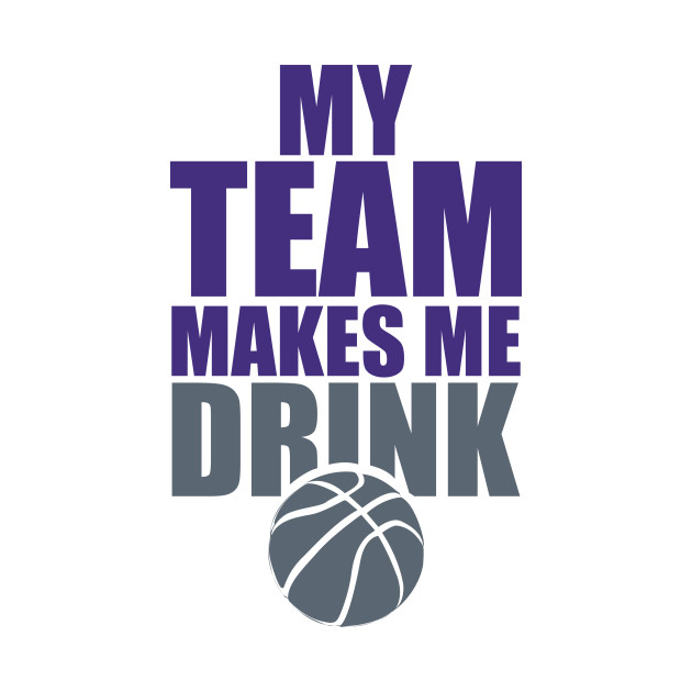 NBA Sacramento Kings Drink