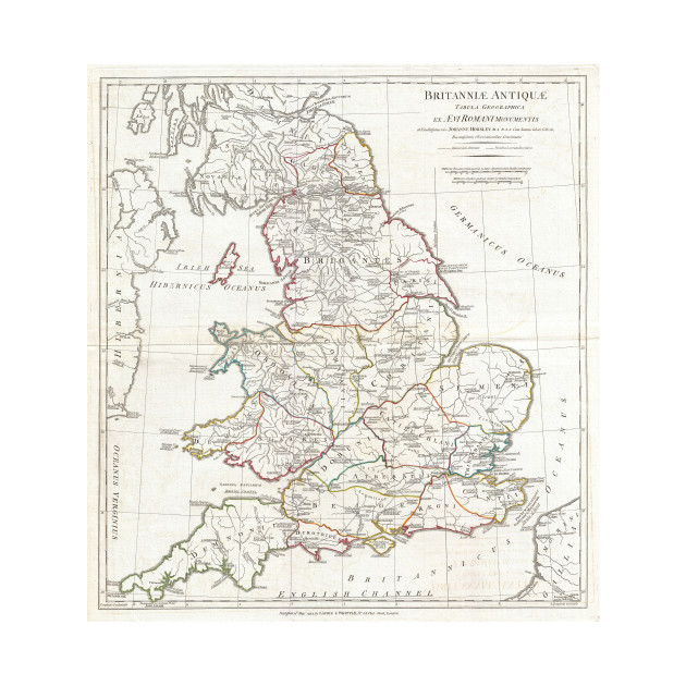 Kids Map Of England.Vintage Map Of England 1794 England Map Kids Long Sleeve T