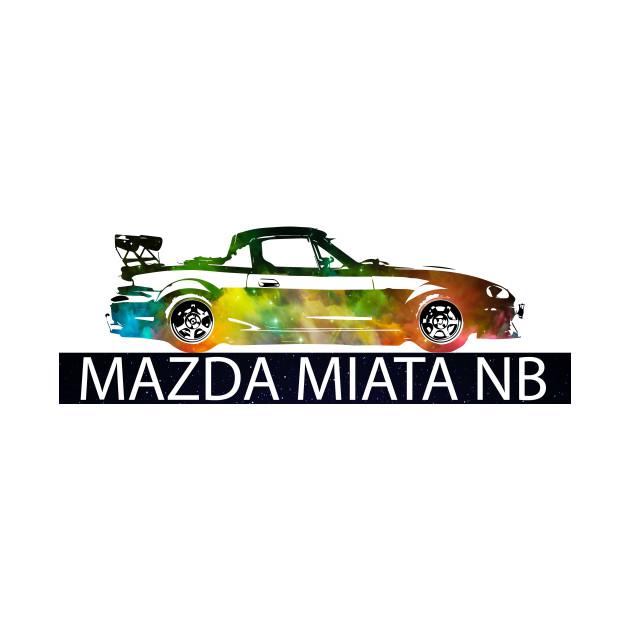Mazda Miata / MX5 NB - Colourful