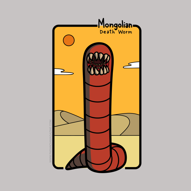 The Mongolian Death Worm!