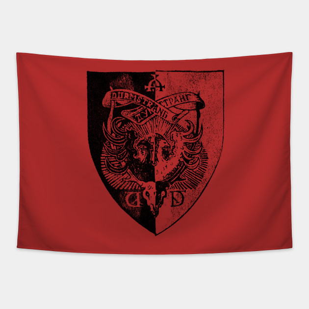Durmstrang Institute Crest T Shirt Harry Potter Tapestry Teepublic When durmstrang institute and beauxbatons were introduced in gof, i believed they were just is durmstrang ever introduced as a scandinavian school? durmstrang institute crest t shirt