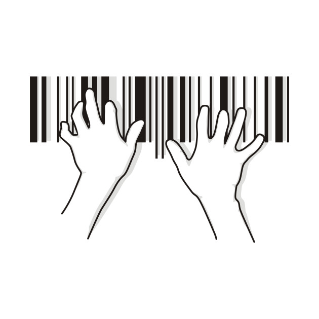 Barcode pianist