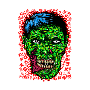 zombie decals kill or be eaten - 313×313