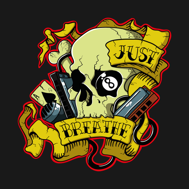 Just Breath Skull