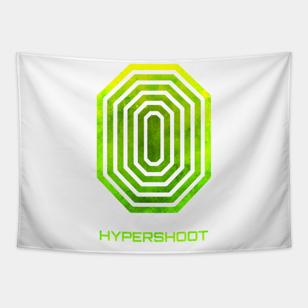 HYPERshoot Grunge Logo