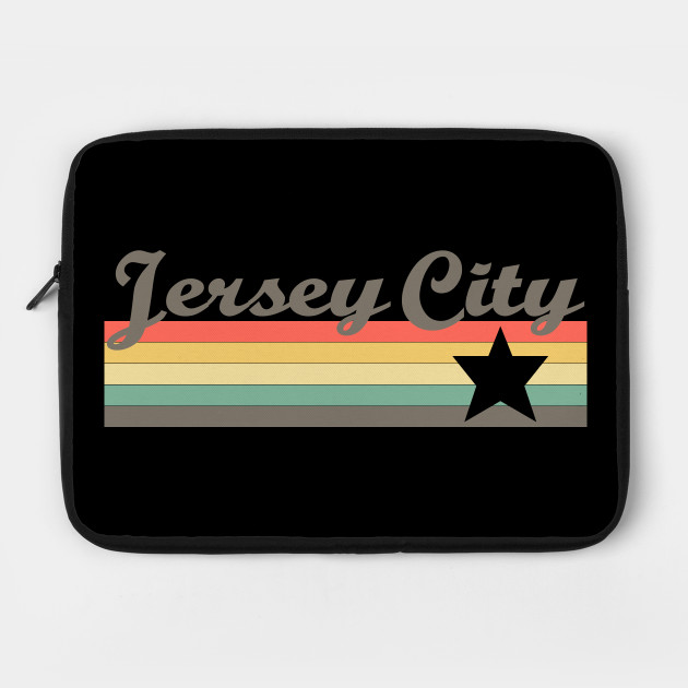 Jersey City T-Shirt City Vintage Retro 70s New Jersey Tee Gift