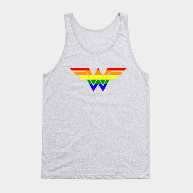 c3d01adfa7fa9 Gay Wonder Woman - Lgbt - Tank Top