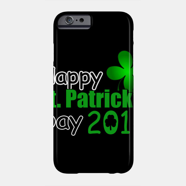 Happy St Patricks Day Cool Volleyball Saint Patrick Shirt Phone Case