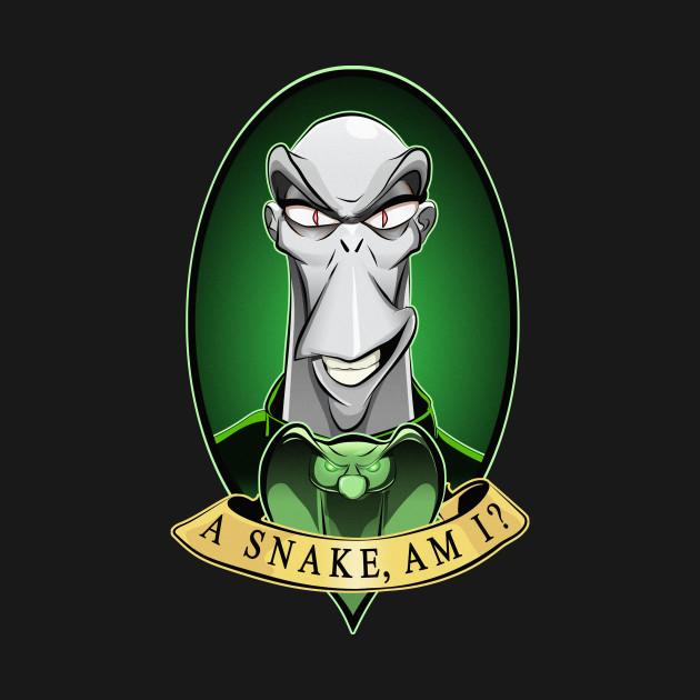 A Snake, am I?
