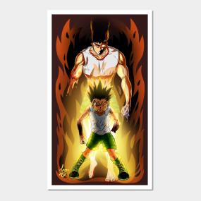 gon freecss posters and art prints teepublic