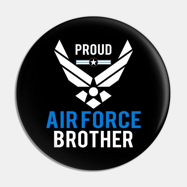 Proud USAF Brother Hooded Sweatshirt
